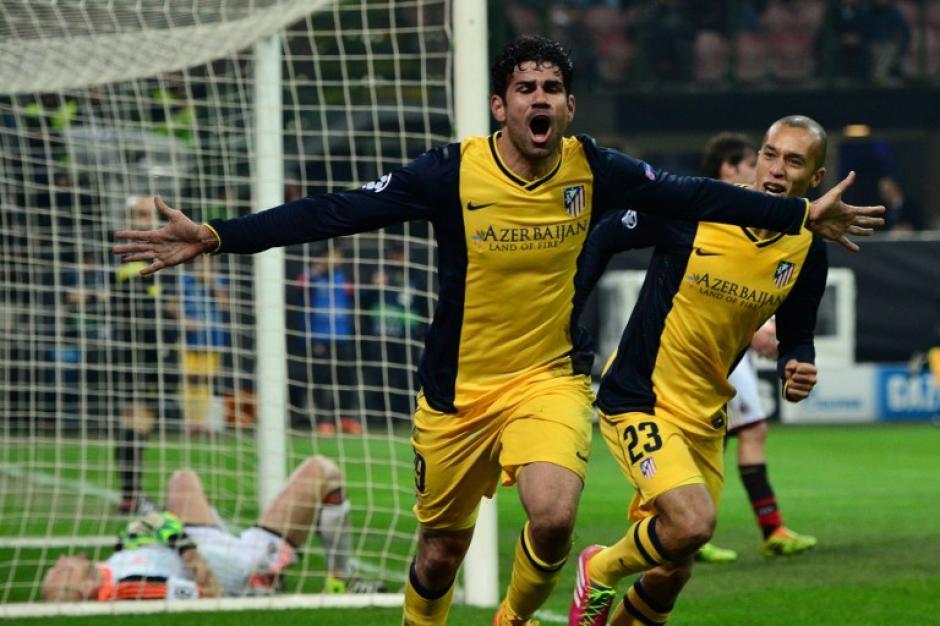 Diego Costa fulminó a los italianos al minuto 83 y consiguió una importante victoria para los colchoneros