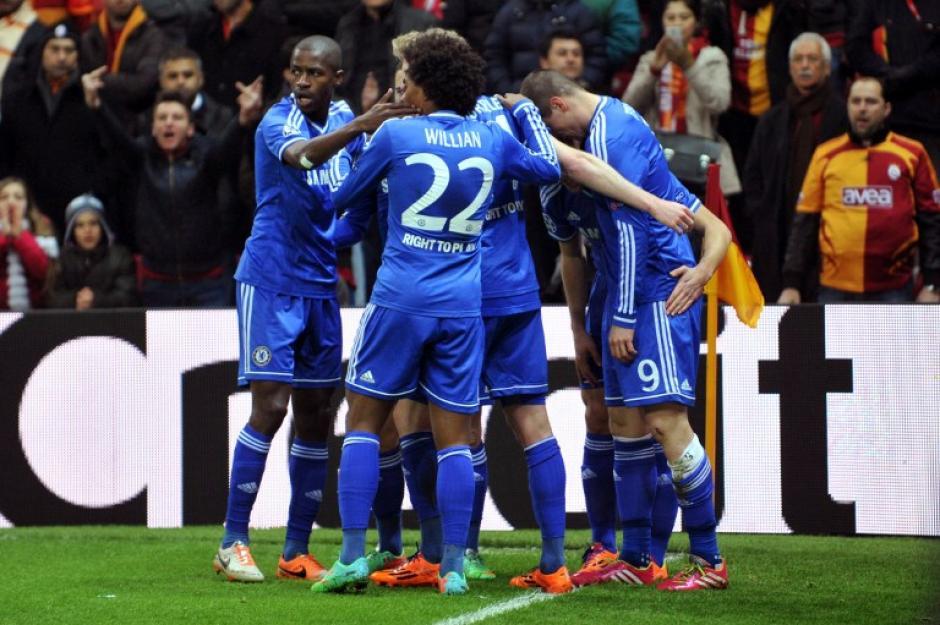 """Fernando """"El Niño"""" Torres anotó al minuto 9 para el Chelsea en Turquía. (Foto: AFP)"""