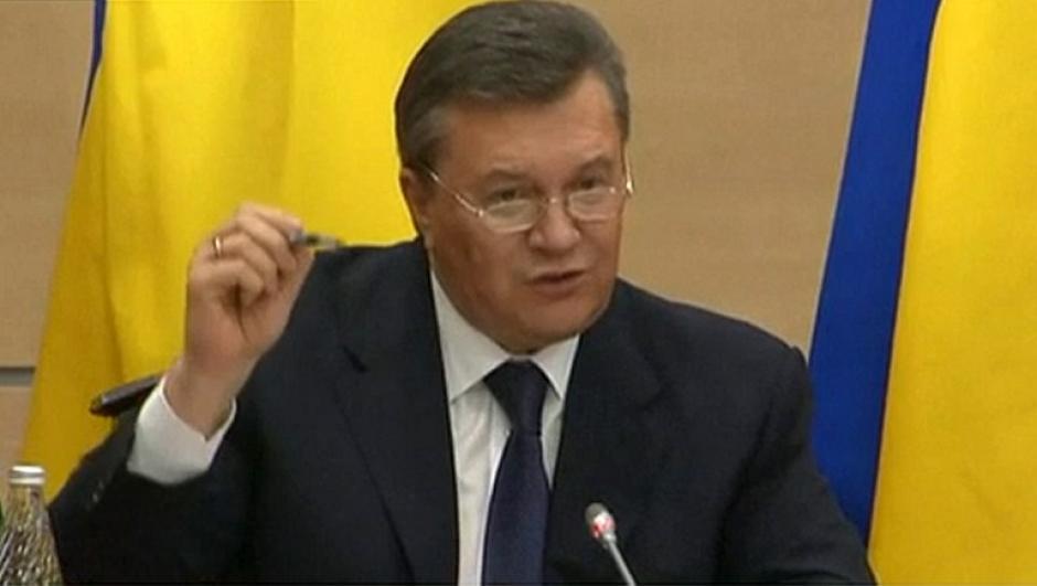 Yanukovich fue enfático en señalar que fue forzado a dimitir. (Foto: AFP)