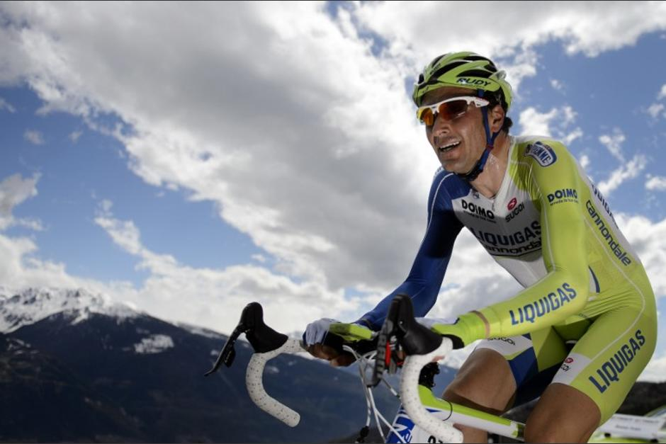 El italiano Ivan Basso, ganador del Giro de Italia en 2006 y 2010, se retiró del actual Tour de France debido a cáncer testicular