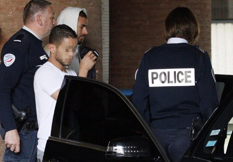 Benzema salió de la prisión preventiva pero quedó imputado por un caso de chantaje por un video de contenido sexual