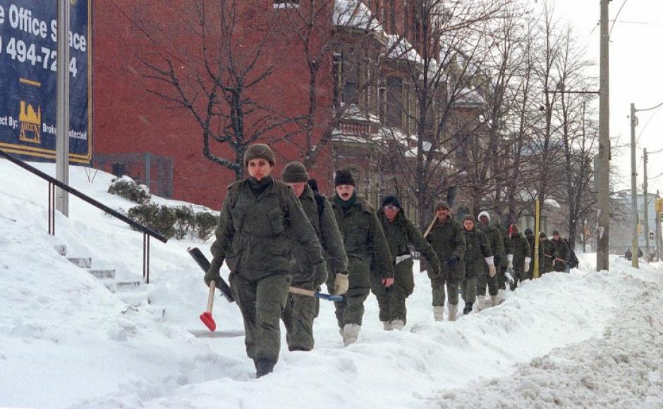 Toronto, Nieve, Tormenta
