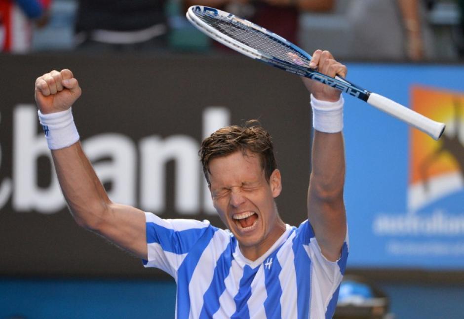 El checo Tomas Berdych ganó el primer título ATP del año tras derrotar al español GUillermo García-López