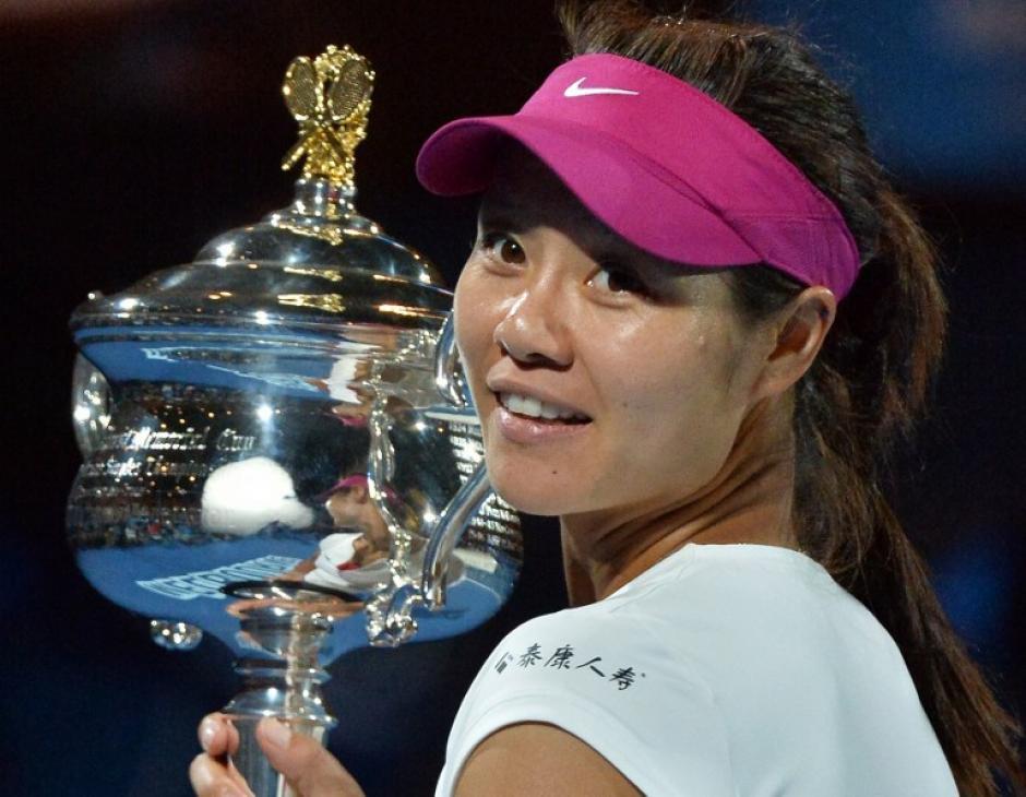 La tenista china de 32 años consiguió el segundo título de Grand Slam de su carrera