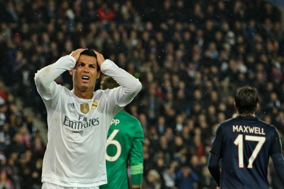Cristiano Ronaldo no pudo anotar ante el PSG y tuvo que pasar una prueba antidoping