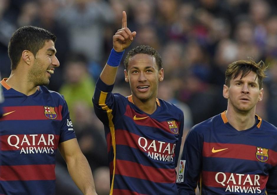Messi, Suárez y Neymar siguen con su imparable racha goleadora y suman ya 125 tantos en este año. (Foto: AFP)