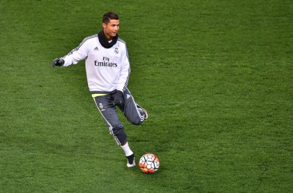 Cristiano Ronaldo está entrenando de lleno con el Madrid tras unas vacaciones de fin de temporada. (Foto: AFP)