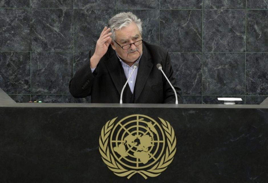 """El presidente uruguayo José Mujica es uno de los líderes de la región, y su país fue nombrado """"país del año"""" por la revista The Economist, por su pujanza económica y apertura. (Foto: AFP)"""