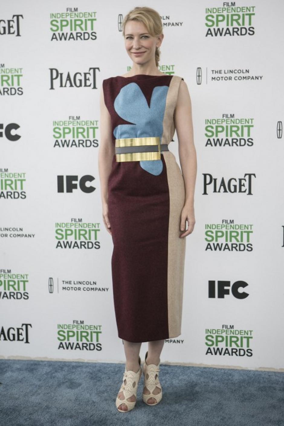 """Cate Blanchet, la ganadora en la categoría """"Mejor Actriz"""". (Foto: AFP)"""