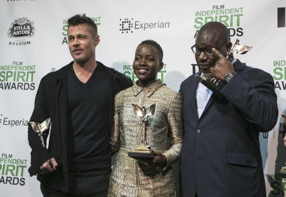 """La gran ganadora de la noche fue """"12 años de esclavitud"""" (Foto: AFP)"""