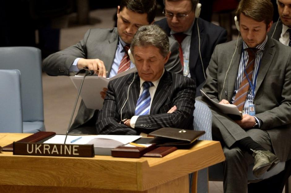 Las bolsas de todo el mundo registraron bajas el lunes por el agravamiento de la crisis de Ucrania, en particular la de Moscú, que llegó a perder un 13%, y la de Fráncfort, que cedió más del 3%. (Foto: AFP)