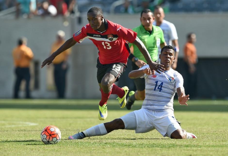 El juego entre Panamá y Trinidad & Tobago finalizó 1-1 en los 90 minutos reglamentarios. (Foto: AFP)