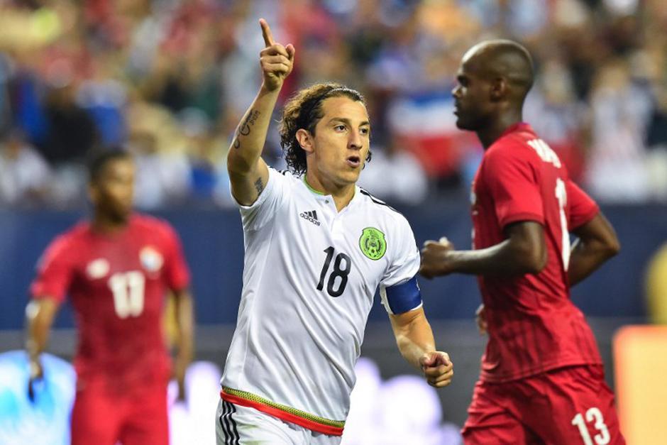 Andrés Guardado anotó el polémico penal entre México y Panamá