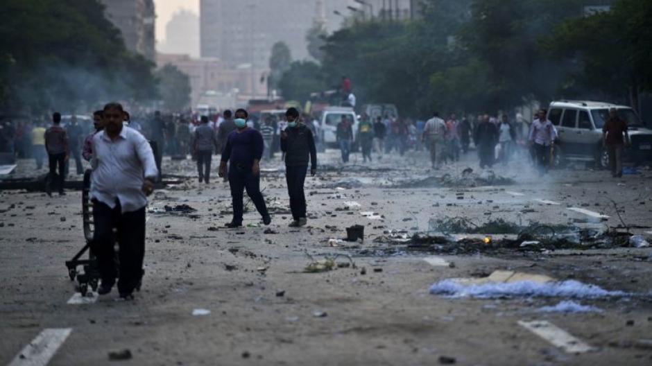 Pese a la cantidad de personas muertas y heridas los manifestantes no se retiran del lugar