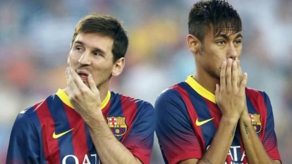 Messi vio cómo en 2016 el Barcelona renovó a Neymar, quien ahora es el mejor pagado del Barça. (Foto: Twitter)