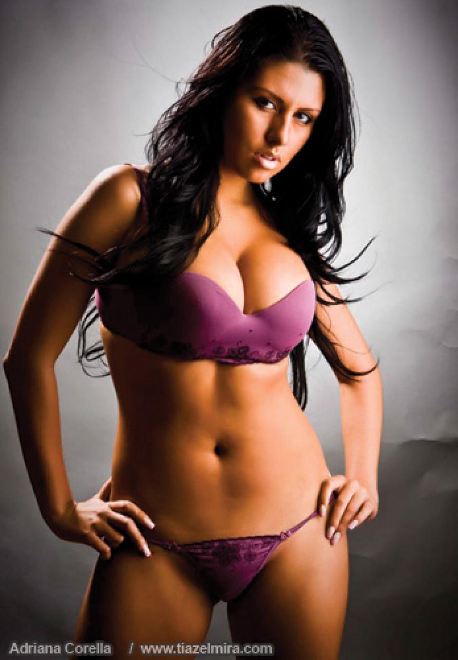 La modelo, Adriana Corella, vive un calvario en Nicaragua. (Foto: tiazelmira)