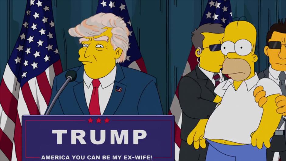 Matt Groening habló sobre la predicción de la presidencia de Donald Trump (Foto: Captura de Pantalla/YouTube)