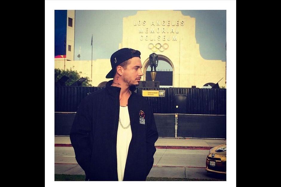 J Balvin quedó admirado con la organización de los Juegos Olímpicos Especiales en Los Ángeles.(Foto: Instagram J Balvin)