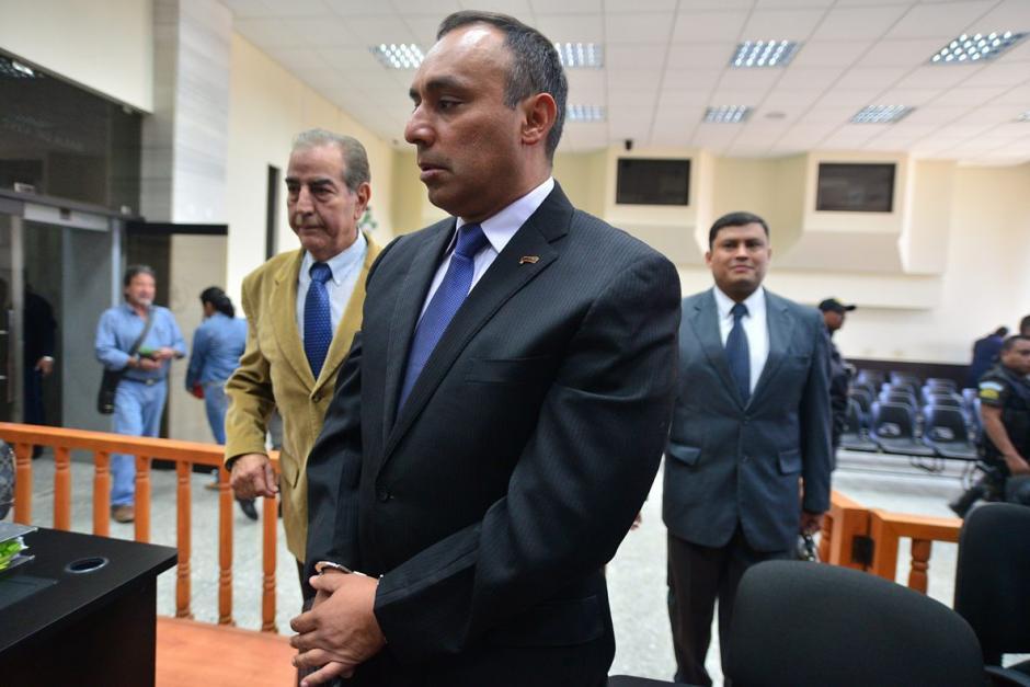 Byron Lima Oliva, pidió al juez, Miguel Ángel Gálvez, que se le devuelvan todos sus bienes. (Foto: Wilder López/Soy502)