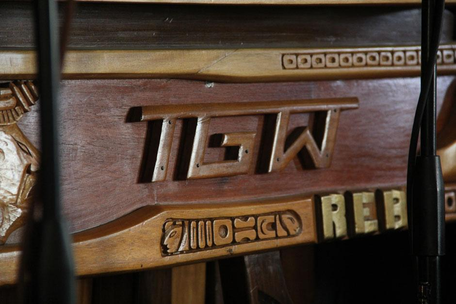 Por más de 70 años la Marimba de la TGW ha interpretado melodías en vivo a través del programa radial Chapinlandia. (Foto: Alexis Batres/Soy502)