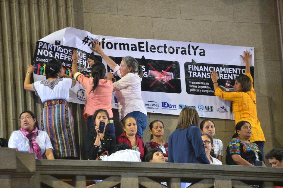 Los diputados del Congreso iniciaron este martes la aprobación de las reformas a la Ley Electora. (Foto: Wilder López/Soy502)
