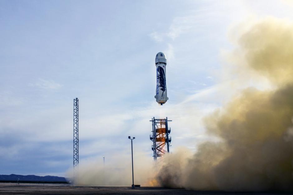El despegue del cohete de Blue Orbit. (Foto: Blue Orbit)
