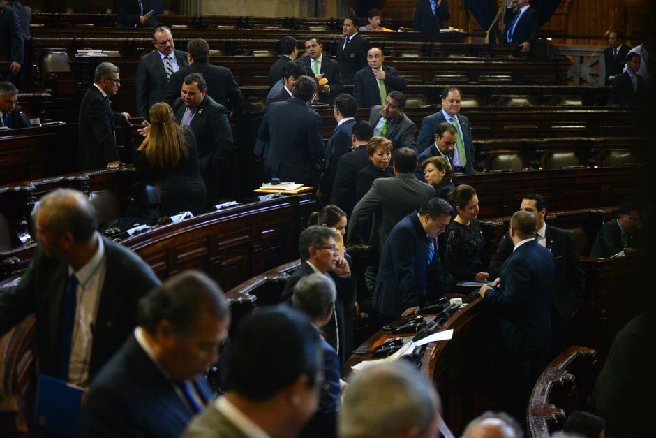 Con suficiente quórum, los legisladores no mostraron resistencia en aprobar el voto en el extranjero. (Foto: Wilder López/Soy502)