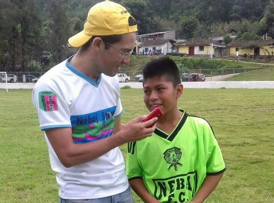 Tomás Raymundo debutó con su equipo Nebaj FC de Quiché el fin de semana. (Foto: Tercera División)