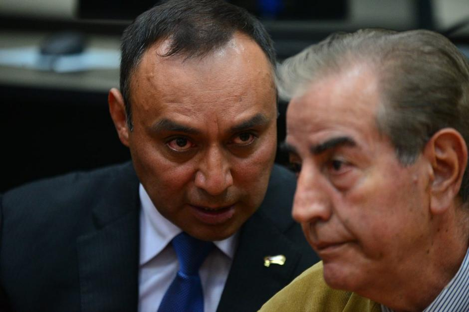 La audiencia se suspendió ya que se ausentó el abogado de Lima Oliva. (Foto: Wilder López/Soy502)