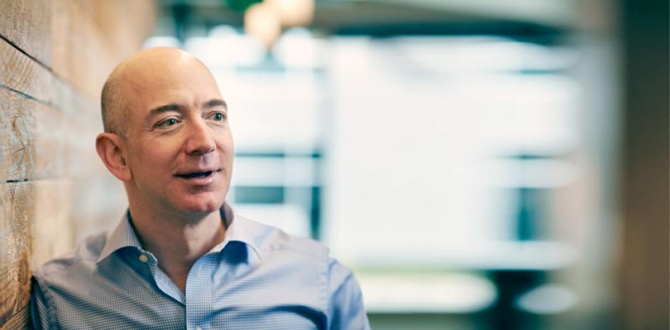 Jeff Bezos, fundador de Amazon, cierra el top5 de los multimillonarios. (Foto: Forbes)