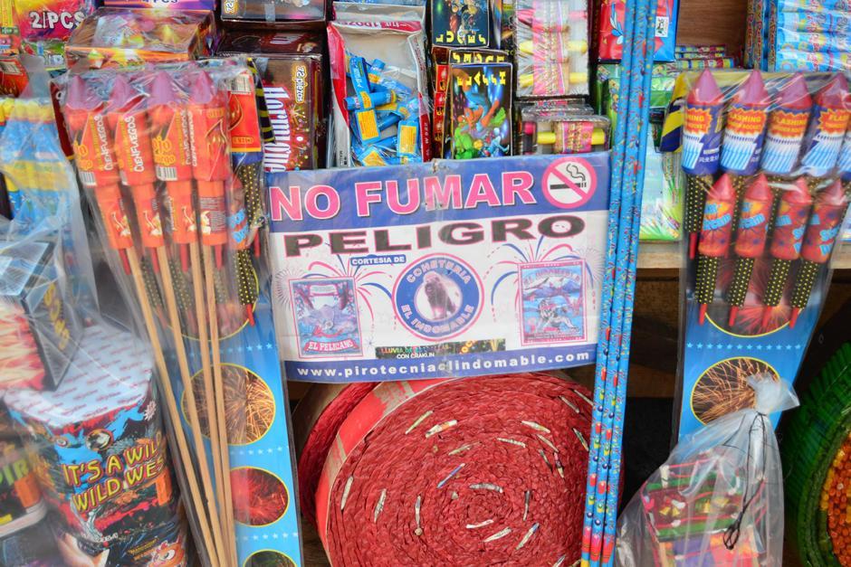Los vendedores deben contar con medidas que garanticen la seguridad. (Foto: Archivo/Soy502)
