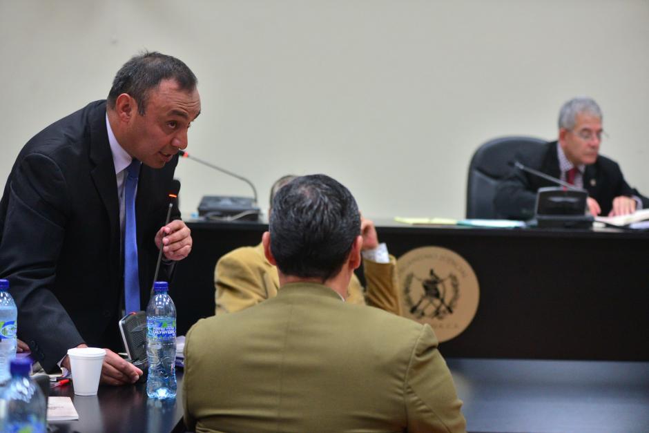 Este día iniciaría la audiencia de apertura de juicio en contra de Lima Oliva por liderar una red de corrupción en el sistema Penitenciario. (Foto: Wilder López/Soy502)