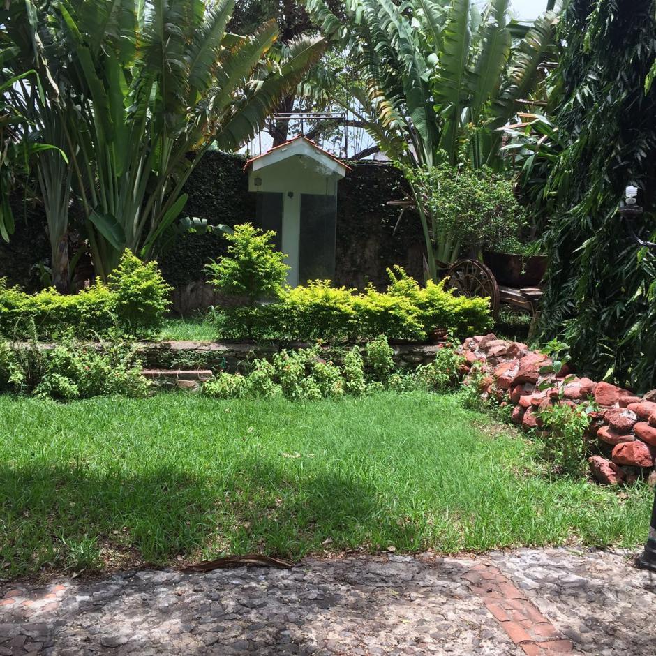 Vista de la casa de Chico Dólar en Jutiapa la cual pasó a ser administrada por la Senabed. (Foto: MP)
