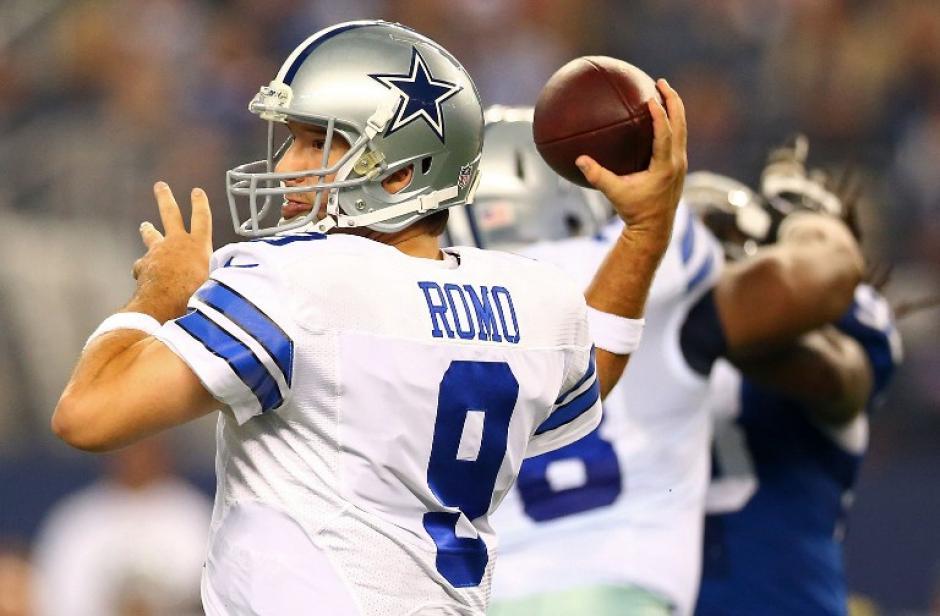 Tony Romo se fracturó la clavícula y se despide momentáneamente de la temporada 2015 con los Vaqueros de Dallas