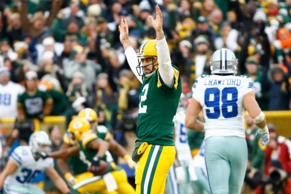Aaeron Rodgers y los Packers de Greenbay marchan invictos tras cuatro jornadas en la NFL