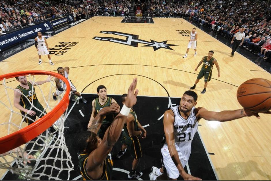 Duncan ya suma 954 victorias como jugador de la NBA en 19 temporadas
