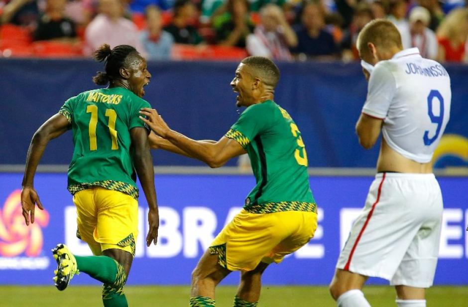 Jamaica logró un triunfo histórico, eliminando a Estados Unidos en semifinales de la Copa Oro. (Foto: AFP)