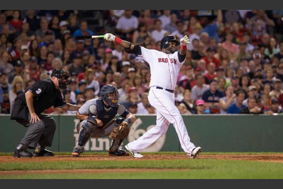 El dominicano David Ortiz impuso una nueva marca en su carrera como beisbolista profesional