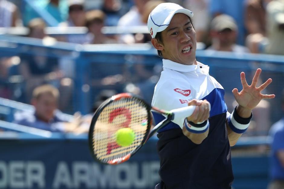 Hace poco el japonés Nishikori derrotó al estadounidense John Isner y obtuvo su décimo título como tenista profesional
