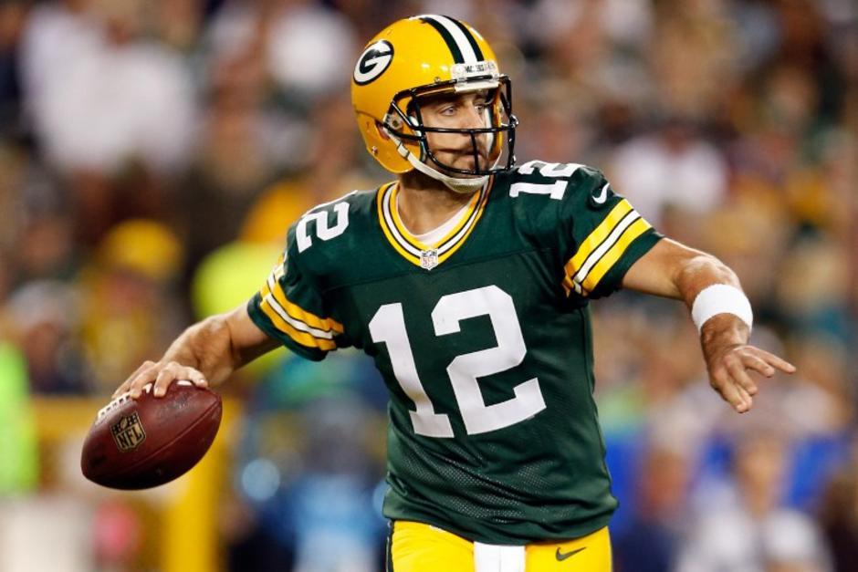 Aaron Rodgers guió a los Packers de Green Bay a la victoria