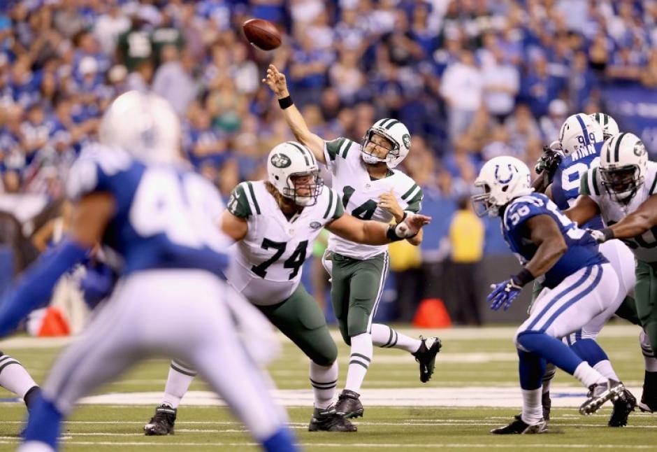 Los Jets derrotaron a los Colts con una estrategia en la que forzaron cinco pérdidas de balón