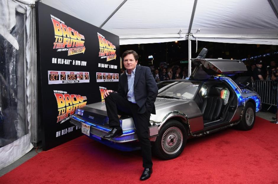 Michael J. Fox protagonizó también la serie Lazos de familia y películas como Muchacho lobo, El secreto de mi éxito o Pecados de guerra. (Foto: AFP)