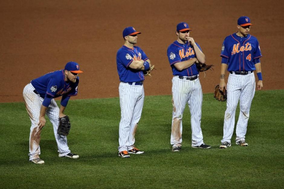 Los Mets cayeron en el quinto juego en su estadio, el Citi Field. (Foto: AFP)