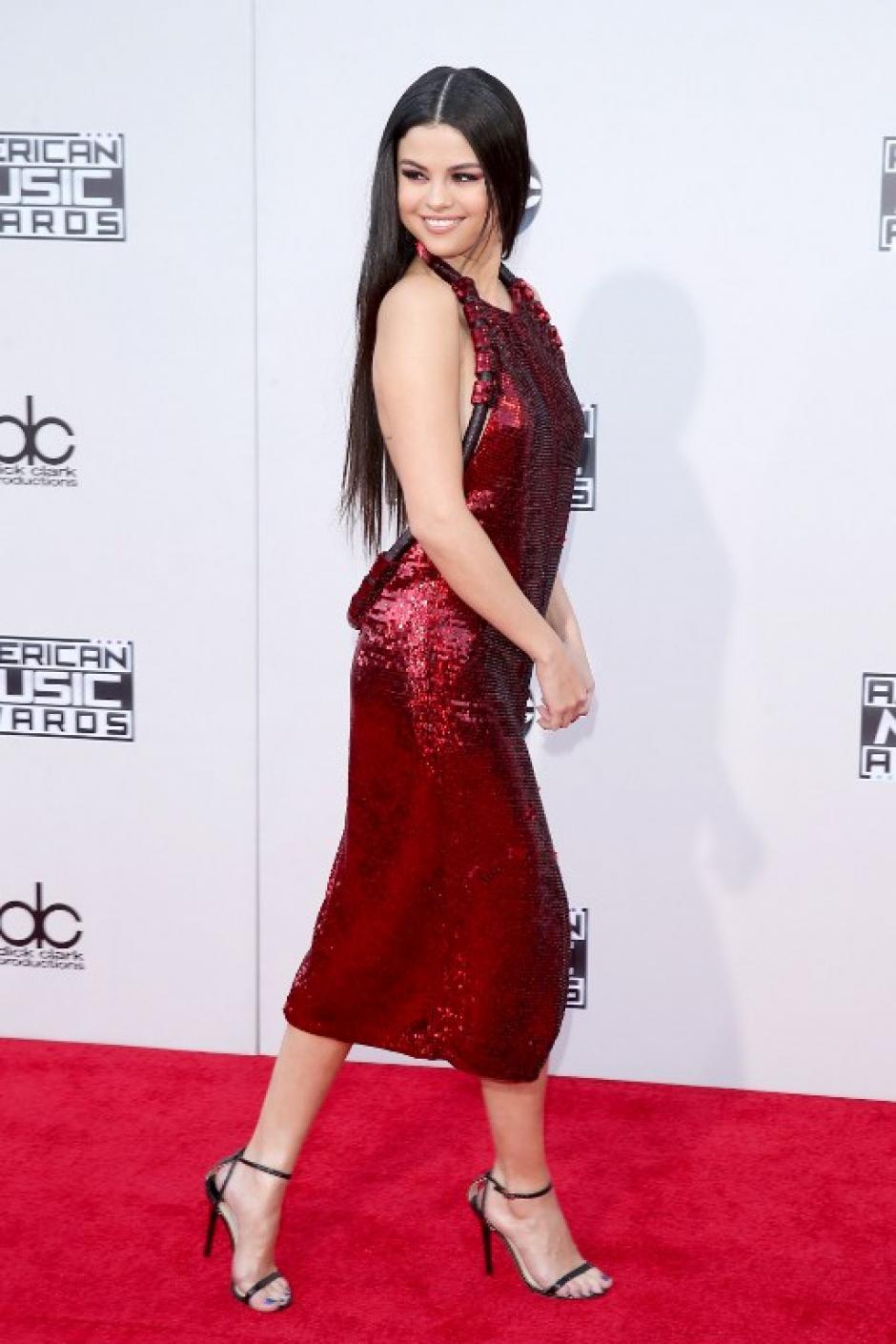 El cantante Selena Gómez en los American Music Awards 2015. (Foto: Mark Davis / AFP)