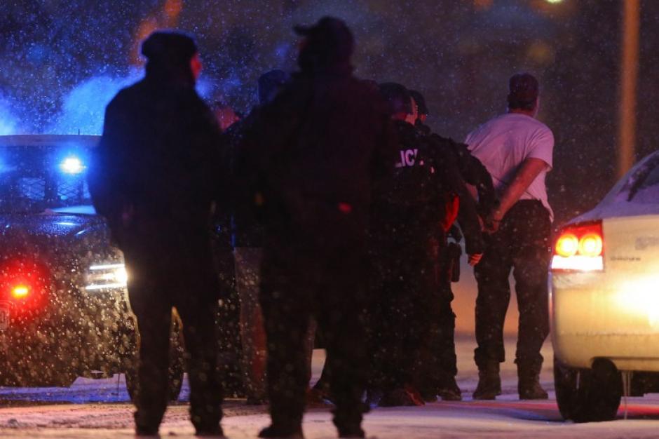 La policía de Colorado Springs detuvo a uno sospechoso del ataque a una clínica. (Foto: AFP)