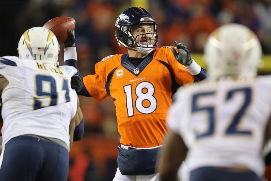 Peyton Manning y los Broncos están en los playoffs de la NFL.