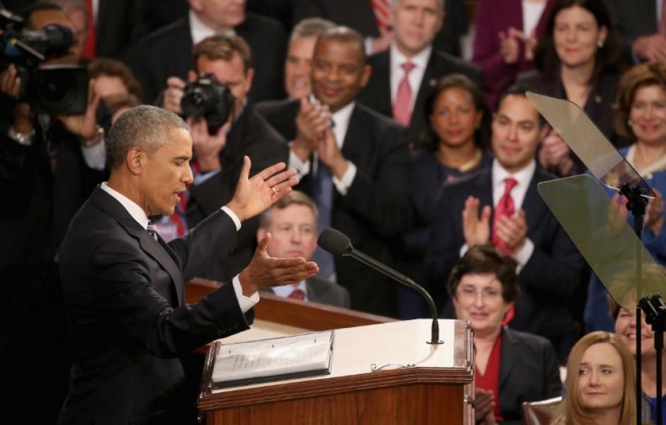 Obama, dijo que espera poder trabajar este año con los republicanos en el Congreso para sacar la reforma del sistema de justicia penal. (Foto: AFP)