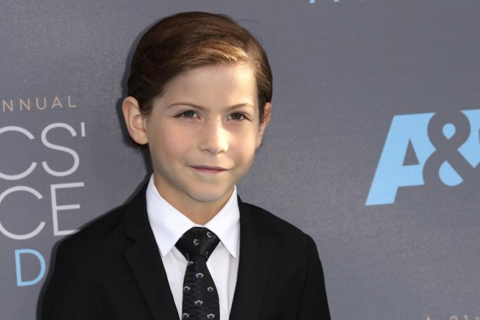 El pequeño Jacob Tremblay fue reconocido como el Mejor Actor Juvenil.(Foto: AFP)