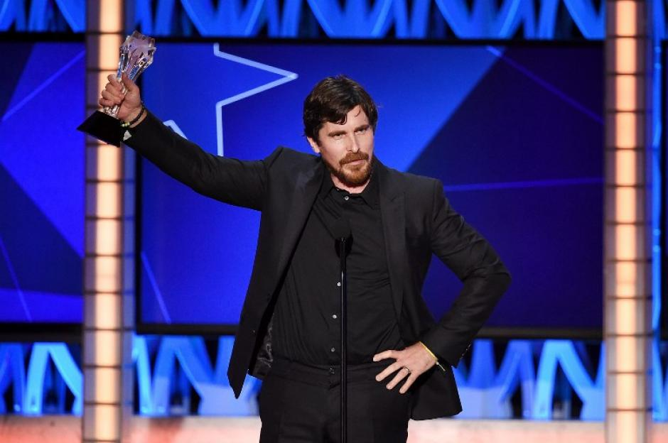 Christian Bale obtuvo el premio a mejor Actor de una película de Comedia por The Big Short. (Foto: AFP)