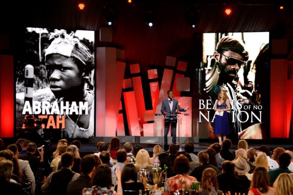 "Abraham Attah ganó con ""Beas of no Nation"" (Foto: AFP)"